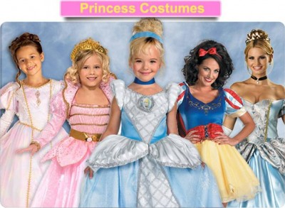 1. Princess Costumes e1351578996811 Top 10 Halloween Costumes in 2012