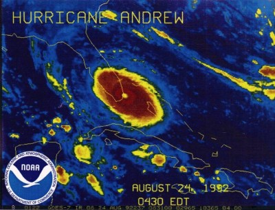 10. Hurricane Andrew e1351597278220 Top 10 Deadliest Hurricanes in World History