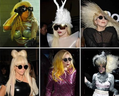 10. Lady Gaga Costumes e1351579106606 Top 10 Halloween Costumes in 2012