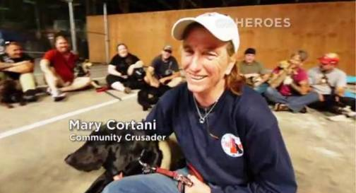 10. Mary Cortani Top 10 Nominees for CNN Heroes of 2012