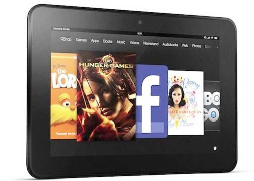 2. Amazon Kindle Fire HD Top 10 Alternatives to iPad Mini
