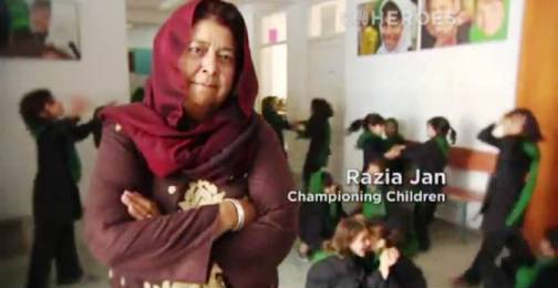 2. Razia Jan Top 10 Nominees for CNN Heroes of 2012