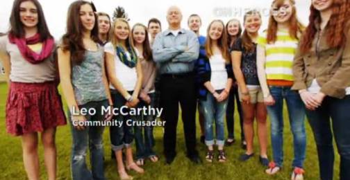 4. Leo McCarthy Top 10 Nominees for CNN Heroes of 2012