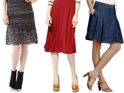 4. Sport the Right Skirt Top 10 Fashion Tips For Ladies to Look Thinner