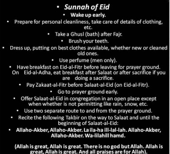 5. Practices According to Sunnah e1349967537730 Top 10 Facts about Eid al Adha 2012