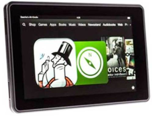 6. Amazon Kindle Fire Top 10 Alternatives to iPad Mini