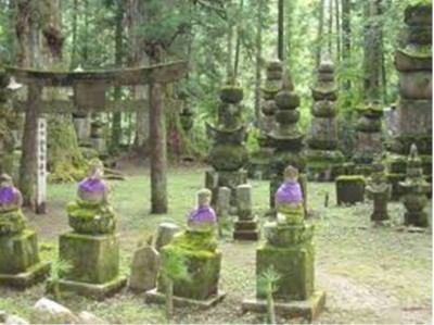 6. Okunoin Cemetery e1351245750942 Top 10 Most Bizarre Cemeteries in the World