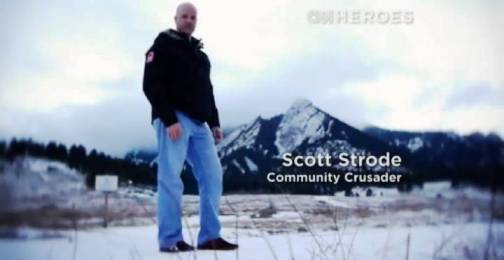 6. Scott Strode Top 10 Nominees for CNN Heroes of 2012