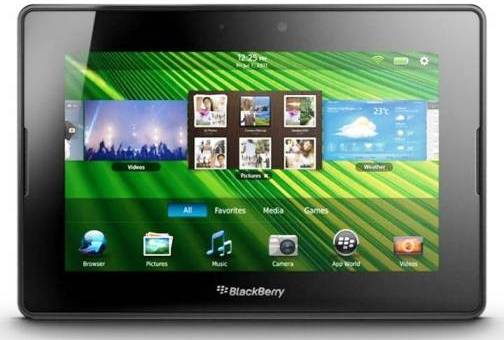 7. Blackberry Playbook Top 10 Alternatives to iPad Mini