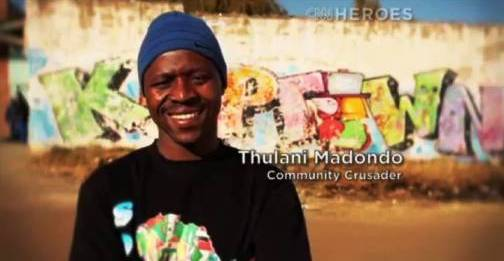 7. Thulani Madondo Top 10 Nominees for CNN Heroes of 2012