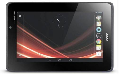 8. Acer Iconia Tab A110 Top 10 Alternatives to iPad Mini