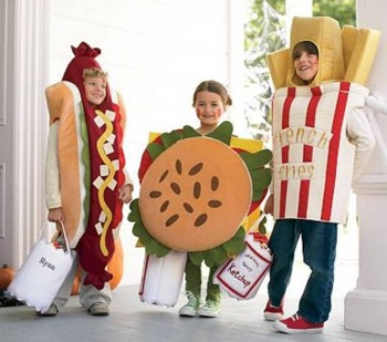 8. Hotdog Costumes e1351579087528 Top 10 Halloween Costumes in 2012