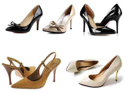 8. Look for Shoes with Pointed Toes and High Heels Top 10 Fashion Tips For Ladies to Look Thinner