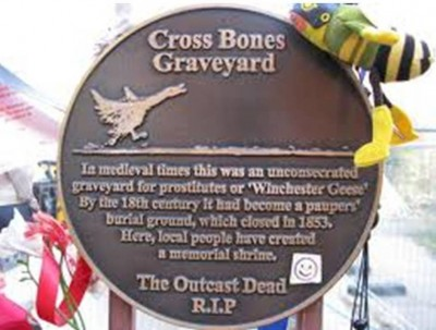 9. Cross Bones Graveyard e1351245782802 Top 10 Most Bizarre Cemeteries in the World