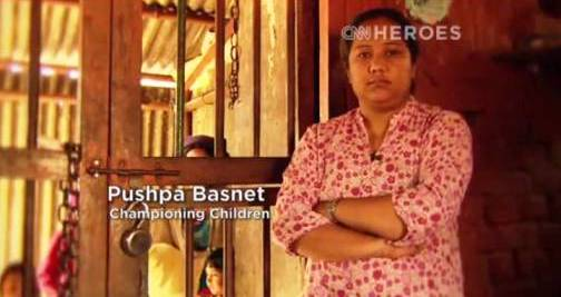 9. Pushpa Basnet Top 10 Nominees for CNN Heroes of 2012