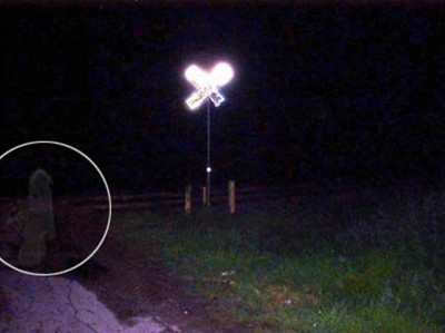 9. Railroad Crossing Ghost e1351669497889 Top 10 Scariest Ghost Photos of All Time