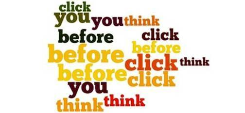 10. Think before You Click Top 10 Tips to Overcome Cyber bullying