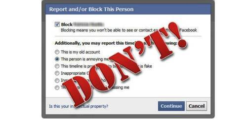 8. Do Not Block Them off Your List Top 10 Tips to Overcome Cyber bullying