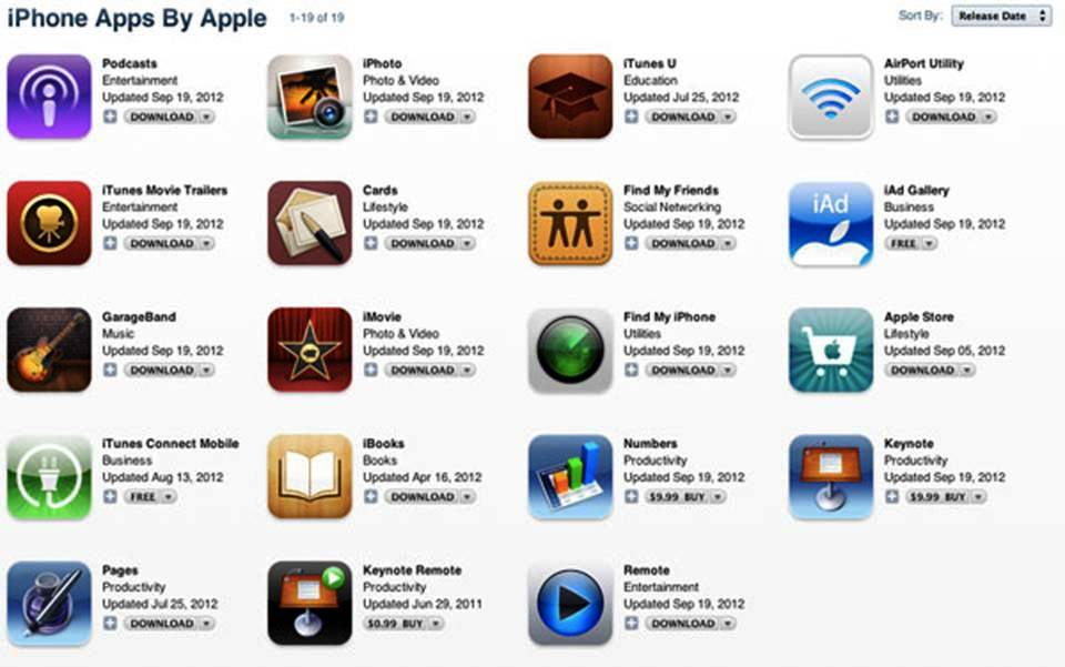 Top 10 iPhone 5 Apps 2013