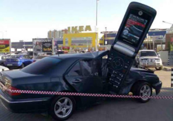 Top 10 Mobile Phone Accidents