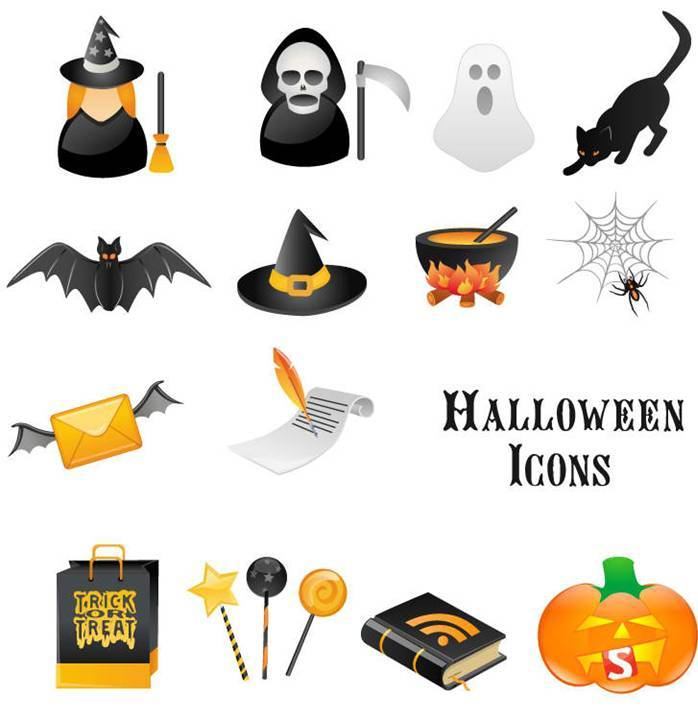 Top 10 Halloween Icons