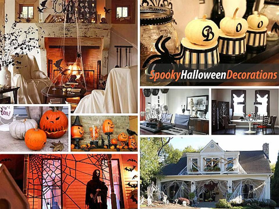 top 10 ways to decorate your home for halloween - Homes Decorated For Halloween