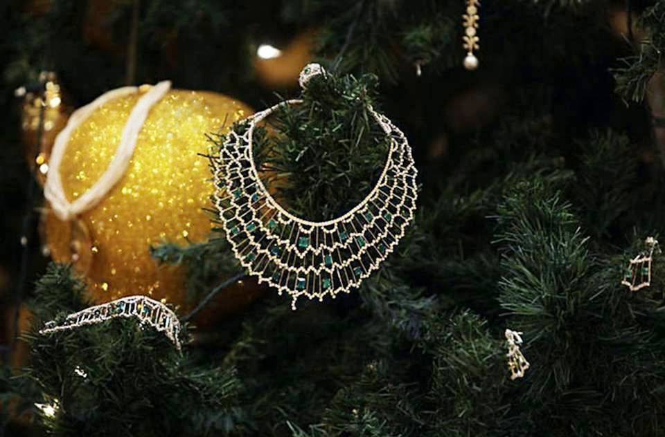 world's most expensive Christmas decorations
