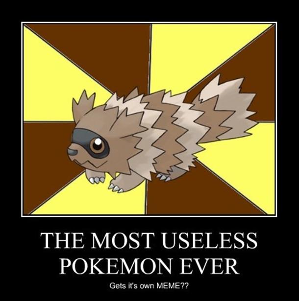 Top 10 Most Useless Pokemons