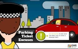 10 Most Commonly Used Excuses to Get Out of a Parking Ticket