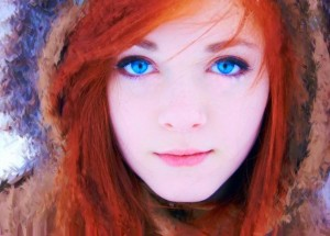 Red-hair-+-blue-eyes-extremely-hot