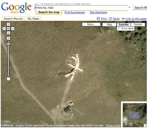 Google Maps Bizarre 101