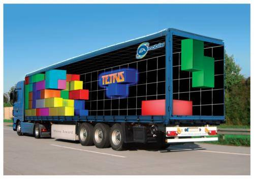 10 Cool 3D Truck Ad Designs