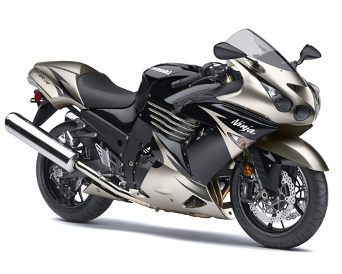 Kawasaki Ninja ZX14 Top Speed Top 10 Fastest Motorbikes in the World