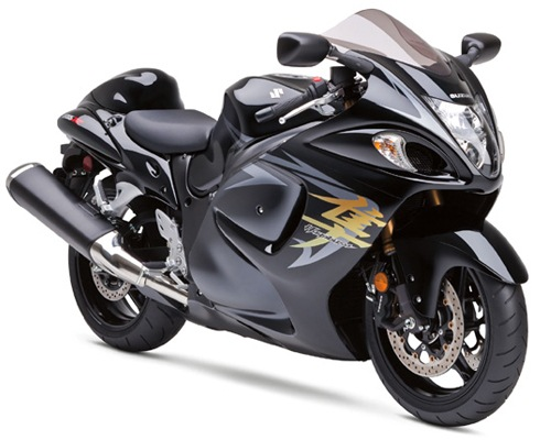 Suzuki Hayabusa Limited Top 10 Fastest Motorbikes in the World