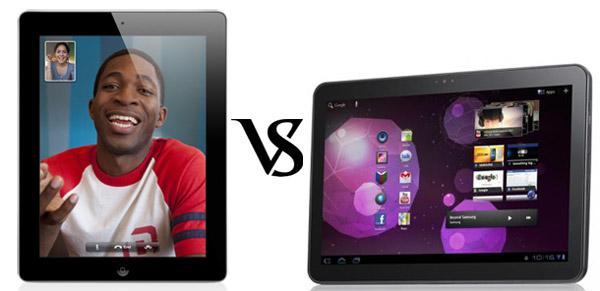 Apple iPad vs Samsung Galaxy Tab 10.1 Battle for the ...